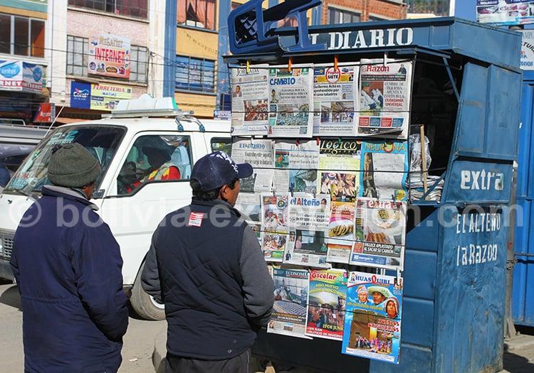 Kiosque à journeaux, el Alto