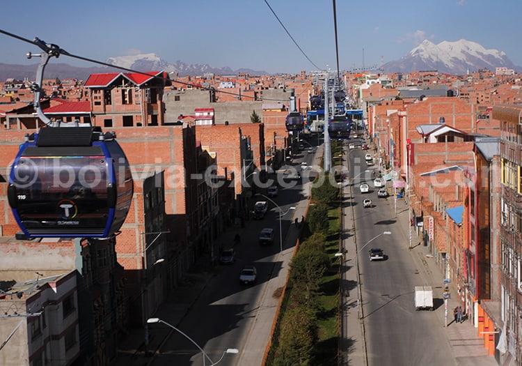 La Paz, vue panoramique