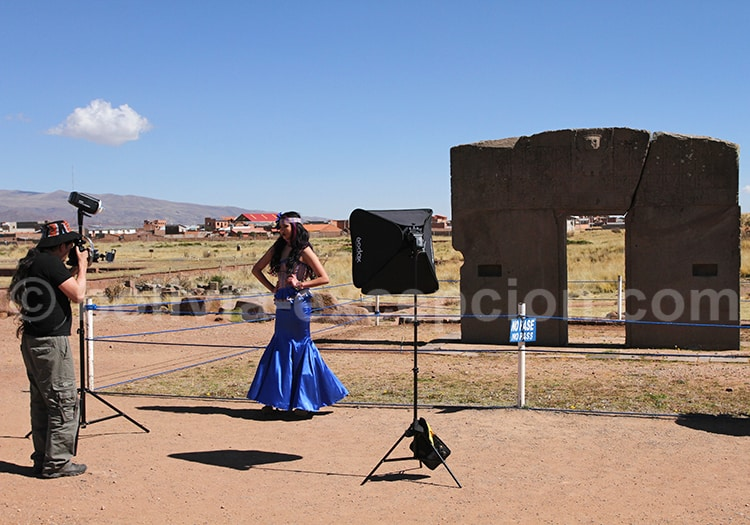 Porte du soleil, Tiwanaku