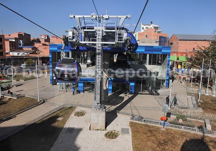 Télécabines bleues, La Paz