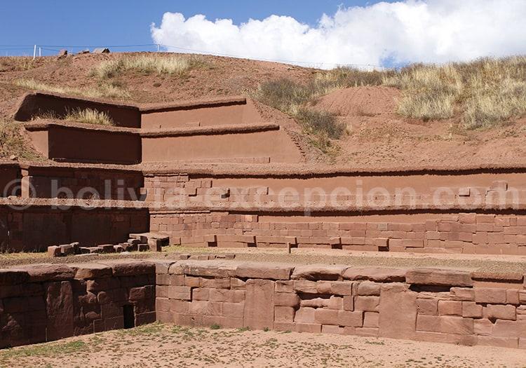 Site de Tiwanaku, Bolivie