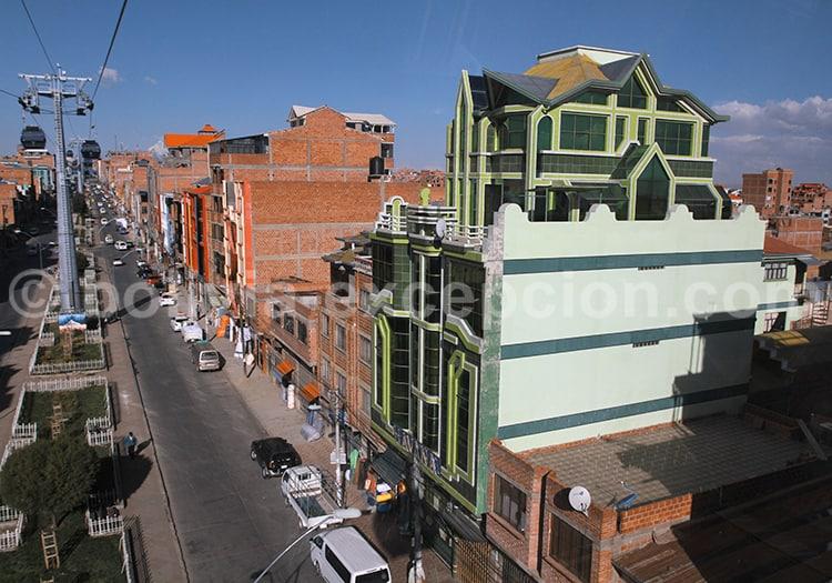 Construction aymara, la Paz