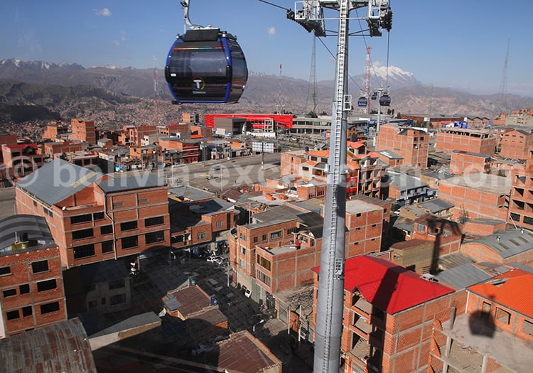 Transport à La Paz
