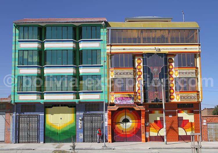 Construction aymara, el Alto