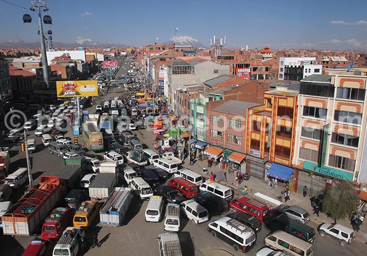 Visiter la Paz en Bolivie