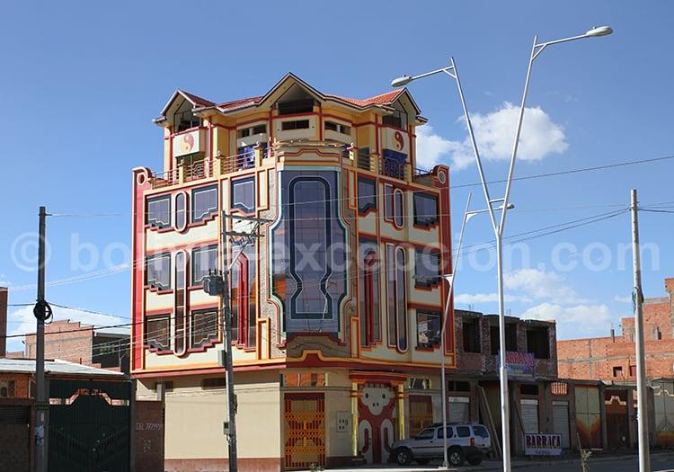 Architecture aymara, el Alto