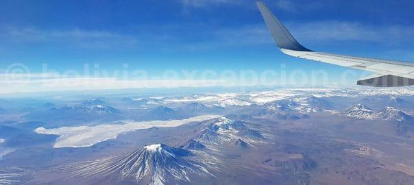 Vol La Paz - Santiago