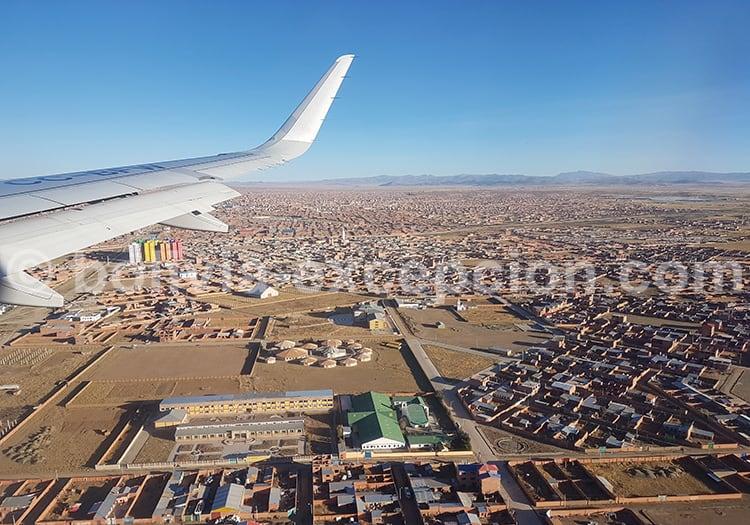 La Paz El Alto 4000 mètres d'altitude