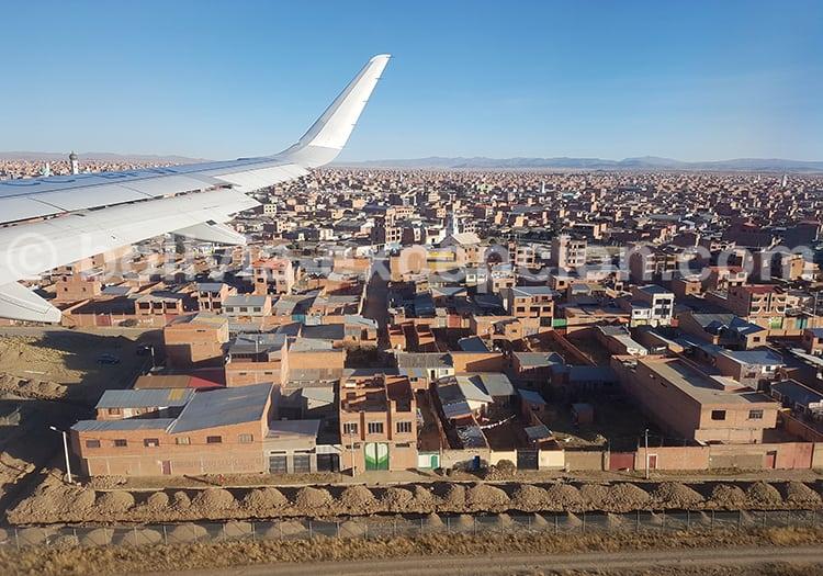 Vol Santiago - La Paz