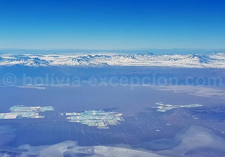 Exploitation de lithium, salar d'Atacama
