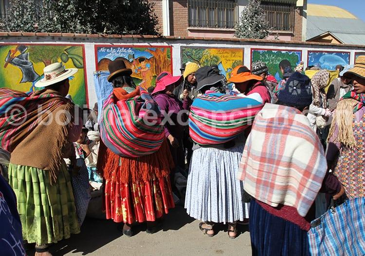 Marchés del Alto, la Paz, Bolivie