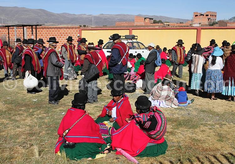 Autorités Aymaras, Tiwanaku