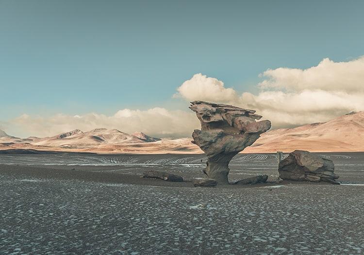 Désert de Siloli en Bolivie, avec Bolivia Excepción by Igor Vera
