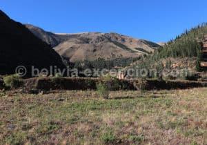 La forteresse de Incallajta, Cochabamba, Bolivie avec l'agence de voyage Bolivia Excepción