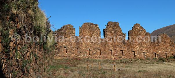 La fortaleza de Incallajta, Cochabamba, Bolivie avec Bolivia Excepción
