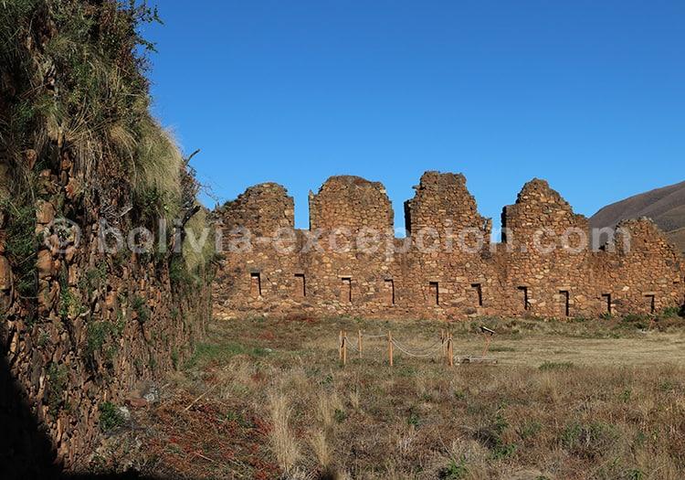 La fortaleza de Incallajta, Bolivie avec l'agence de voyage Bolivia Excepción