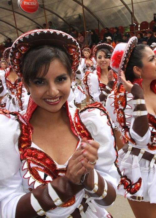 La Caporale au carnaval d'Oruro