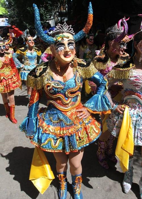 La Diablada au carnaval d'Oruro