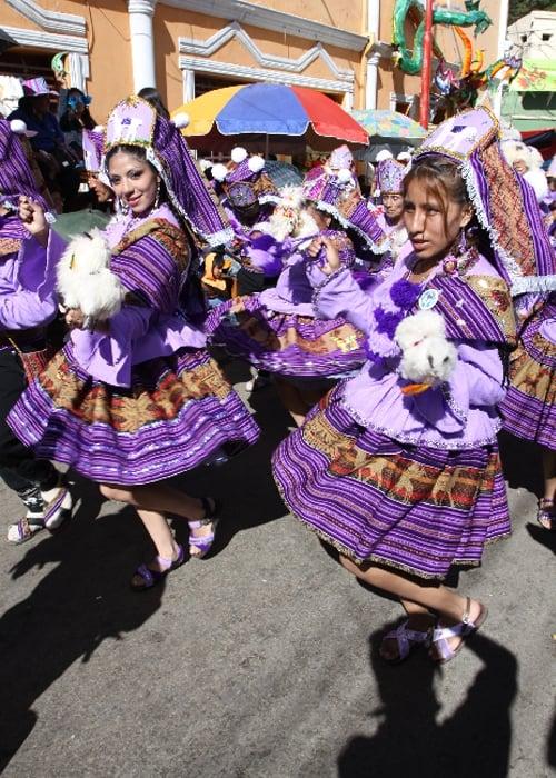 La Llamerada au carnaval d'Oruro