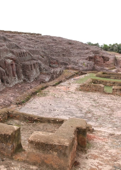 Le fort de Samaipata à Santa Cruz