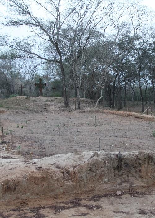 Le site de Santa Cruz La Vieja