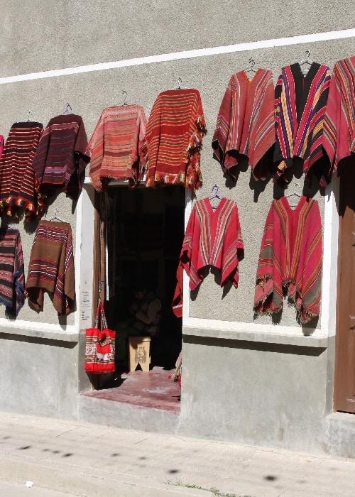 Les Ponchos en Bolivie
