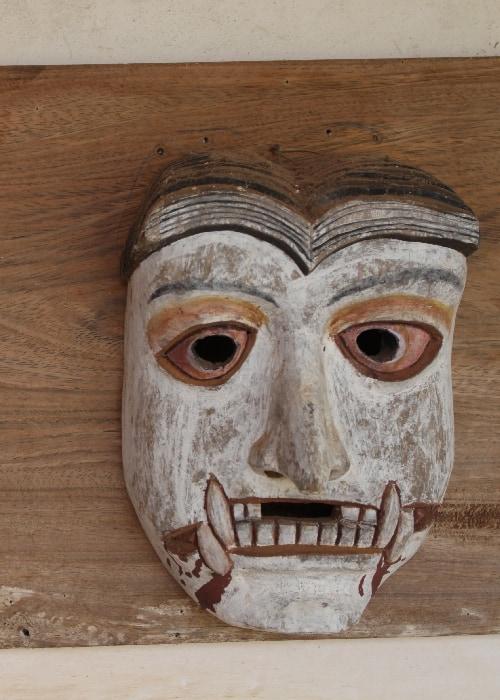 Les masques de théâtre de Chiquitos