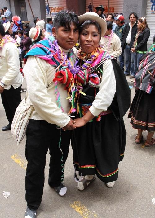Les portraits du carnaval d'Oruro