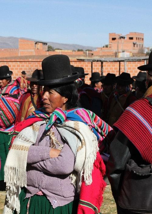Les tissus ou tejidos boliviens
