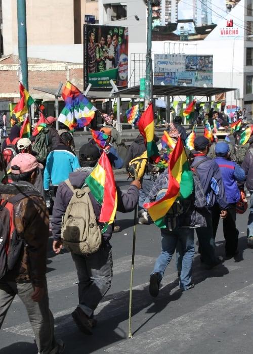Situation politique de la Bolivie 2