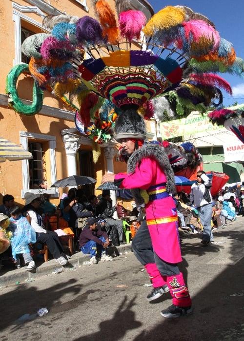 Tout savoir sur le carnaval d'Oruro