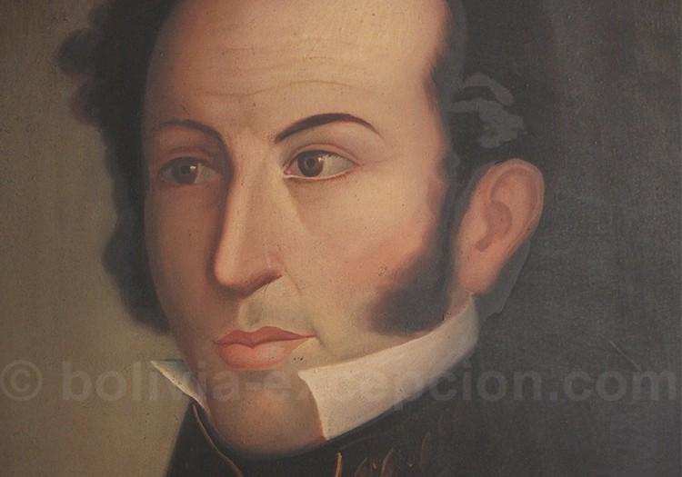 Portrait de Antonio José Francisco de Sucre