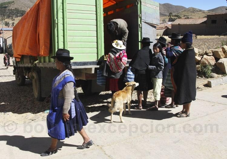 Visite de la région de Sucre, Bolivie