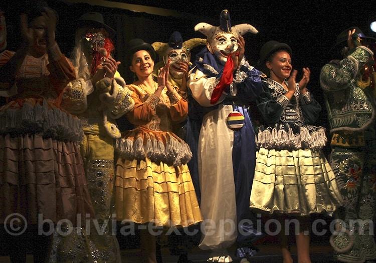 danseuses carnaval La Paz