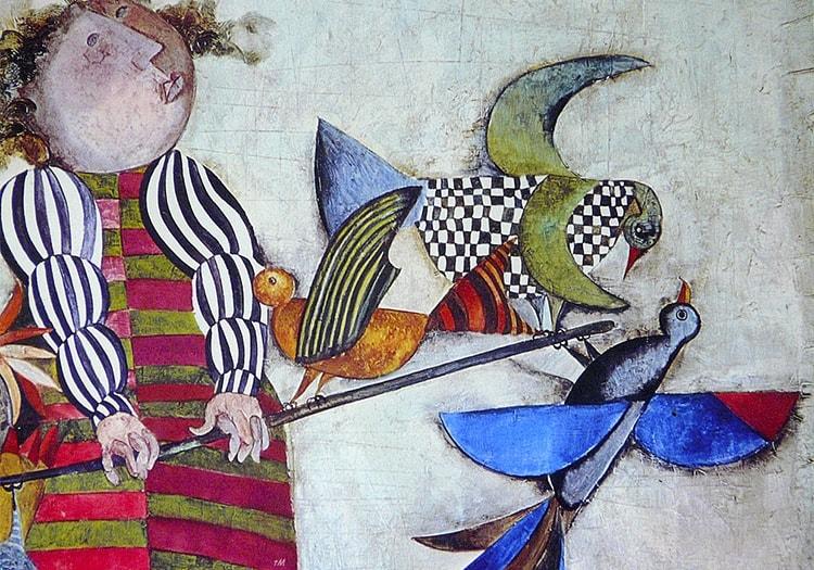 Graciela Rodo Boulanger, peintre bolivien