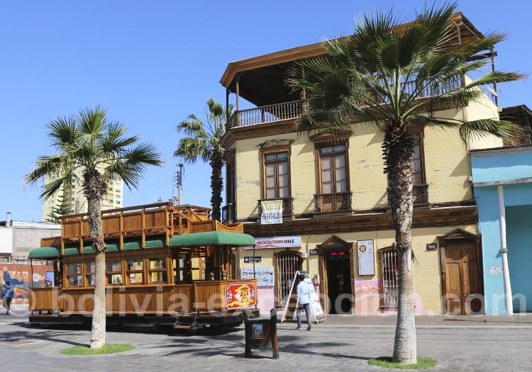 Etapes d'Iquique, visite du beau centre historique