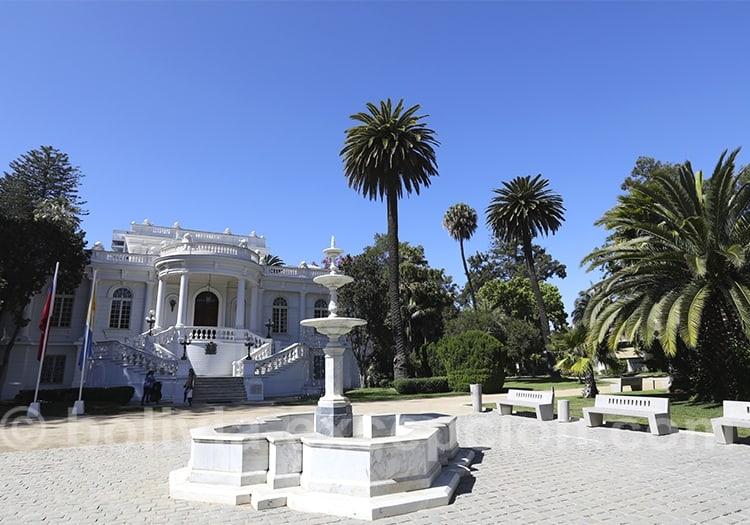 Visite des palais de Viña del Mar