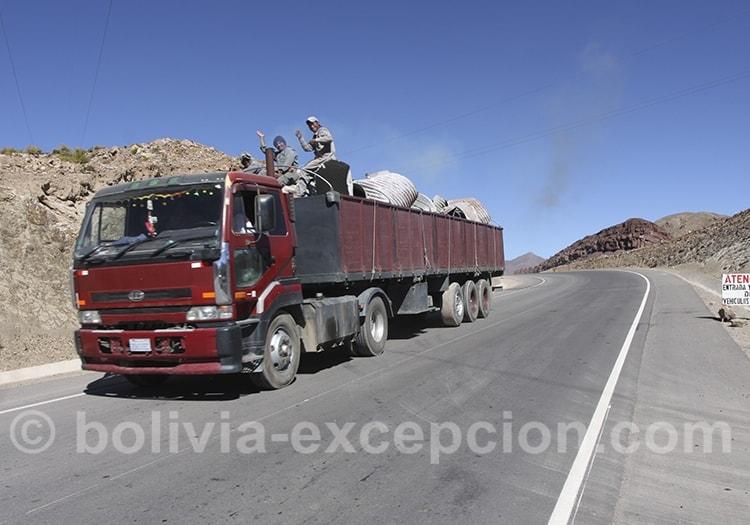 Les transports routiers en Bolivie