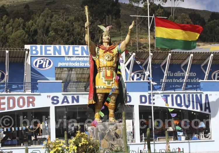 Statue de face, Bolivie