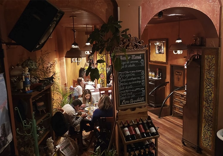 Restaurant La Comédie, La Paz