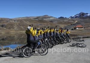 La Cumbre entre La Paz et los Yungas