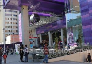 Téléphérique violet, La Paz
