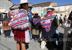 Visite du marché de Punata