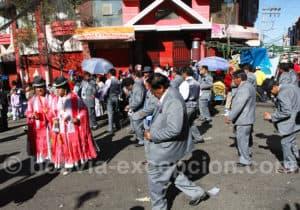 La Fiesta du Gran Poder dans la rue