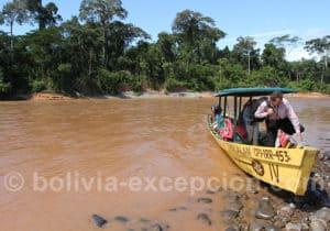 Río Tuíchi, Madidi