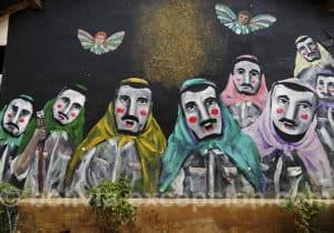 Art urbain, région de Santa Cruz