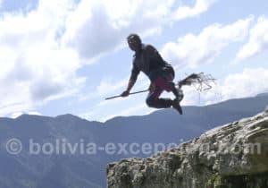 Jeux de cadrage sur la Ruta de La Muerte, La Paz