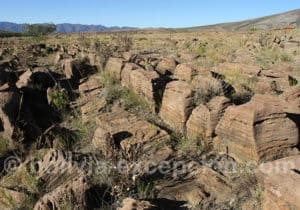 Curiosité géologique à Torotoro