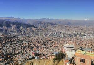 City tour de la capitale bolivienne en télécabine