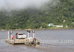 Traversée du fleuve béni à Rurrenabaque